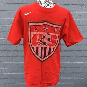 Nike Red US Soccer Loose fit Tee